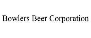 mark for BOWLERS BEER CORPORATION, trademark #85698306