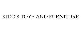 mark for KIDO'S TOYS AND FURNITURE, trademark #85698341