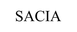 mark for SACIA, trademark #85698363