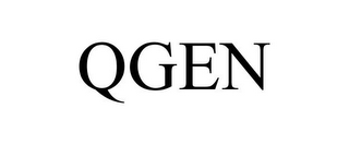 mark for QGEN, trademark #85698401