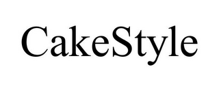 mark for CAKESTYLE, trademark #85698453