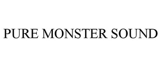 mark for PURE MONSTER SOUND, trademark #85698478