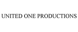 mark for UNITED ONE PRODUCTIONS, trademark #85698800
