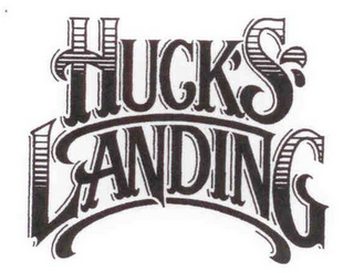 mark for HUCK'S LANDING, trademark #85698940