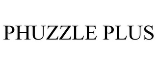 mark for PHUZZLE PLUS, trademark #85698954