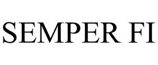 mark for SEMPER FI, trademark #85699748