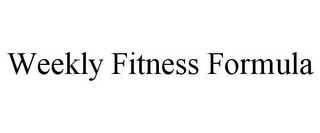 mark for WEEKLY FITNESS FORMULA, trademark #85699837