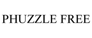 mark for PHUZZLE FREE, trademark #85699889