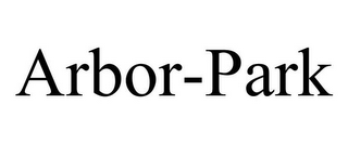 mark for ARBOR-PARK, trademark #85700001