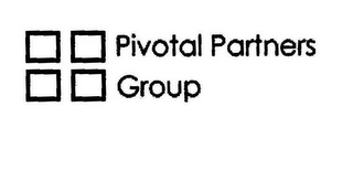 mark for PIVOTAL PARTNERS GROUP, trademark #85700248