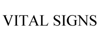 mark for VITAL SIGNS, trademark #85700491