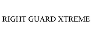 mark for RIGHT GUARD XTREME, trademark #85700598