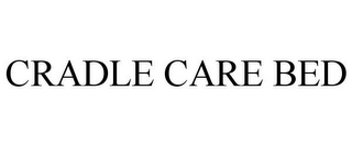 mark for CRADLE CARE BED, trademark #85700638