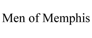 mark for MEN OF MEMPHIS, trademark #85700702