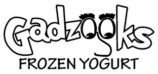 mark for GADZOOKS FROZEN YOGURT, trademark #85700743