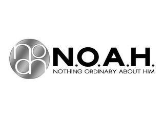 mark for N.O.A.H. NOTHING ORDINARY ABOUT HIM, trademark #85700792