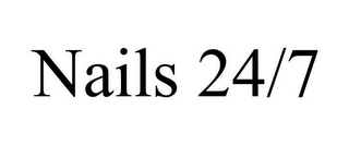 mark for NAILS 24/7, trademark #85701250