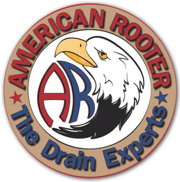 mark for AMERICAN ROOTER THE DRAIN EXPERTS AR, trademark #85701397