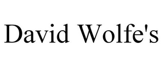 mark for DAVID WOLFE'S, trademark #85701430