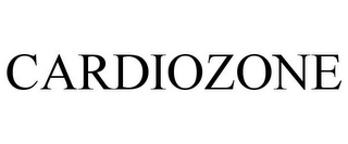 mark for CARDIOZONE, trademark #85701462