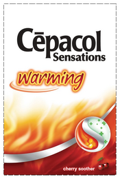 mark for CEPACOL SENSATIONS WARMING CHERRY SOOTHER, trademark #85701583