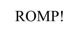 mark for ROMP!, trademark #85701719