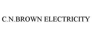 mark for C.N.BROWN ELECTRICITY, trademark #85701836