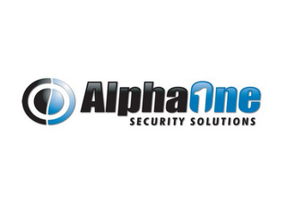 mark for ALPHAONE1 SECURITY SOLUTIONS, trademark #85701845