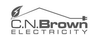 mark for C.N.BROWN ELECTRICITY, trademark #85701928