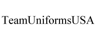 mark for TEAMUNIFORMSUSA, trademark #85702046