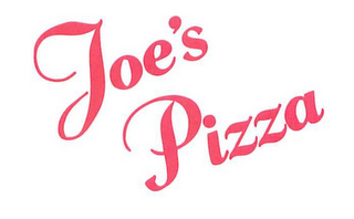mark for JOE'S PIZZA, trademark #85702050