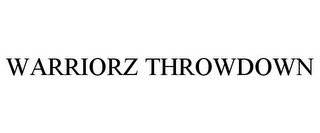 mark for WARRIORZ THROWDOWN, trademark #85702066
