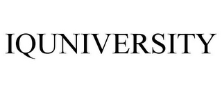 mark for IQUNIVERSITY, trademark #85702341