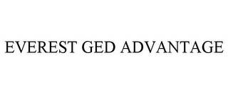 mark for EVEREST GED ADVANTAGE, trademark #85702398