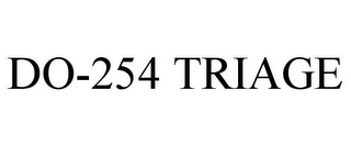 mark for DO-254 TRIAGE, trademark #85702454