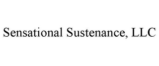 mark for SENSATIONAL SUSTENANCE, LLC, trademark #85702478