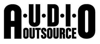 mark for A·U·D·I·O OUTSOURCE, trademark #85702507
