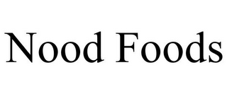 mark for NOOD FOODS, trademark #85702660