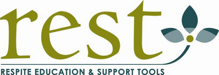 mark for REST RESPITE EDUCATION & SUPPORT TOOLS, trademark #85702730