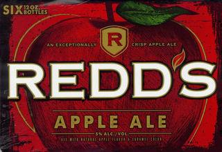 mark for R AN EXCEPTIONALLY CRISP APPLE ALE REDD'S APPLE ALE 5% ALC./VOL. ALE WITH NATURAL APPLE FLAVOR & CARAMEL COLOR SIX 12 OZ. BOTTLES, trademark #85702759
