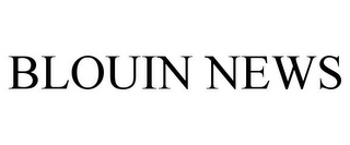 mark for BLOUIN NEWS, trademark #85702964