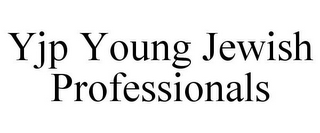 mark for YJP YOUNG JEWISH PROFESSIONALS, trademark #85703078