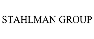 mark for STAHLMAN GROUP, trademark #85703453
