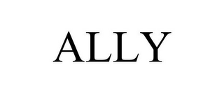 mark for ALLY, trademark #85703472
