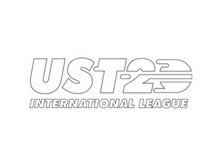 mark for UST-20 INTERNATIONAL LEAGUE, trademark #85703510