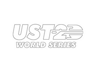 mark for UST-20 WORLD SERIES, trademark #85703523