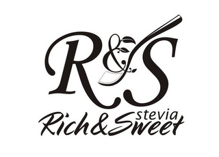 mark for R & S RICH & SWEET STEVIA, trademark #85703628