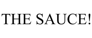 mark for THE SAUCE!, trademark #85703663