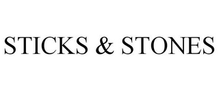 mark for STICKS & STONES, trademark #85704005