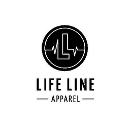 mark for LIFE LINE APPAREL L L, trademark #85704046
